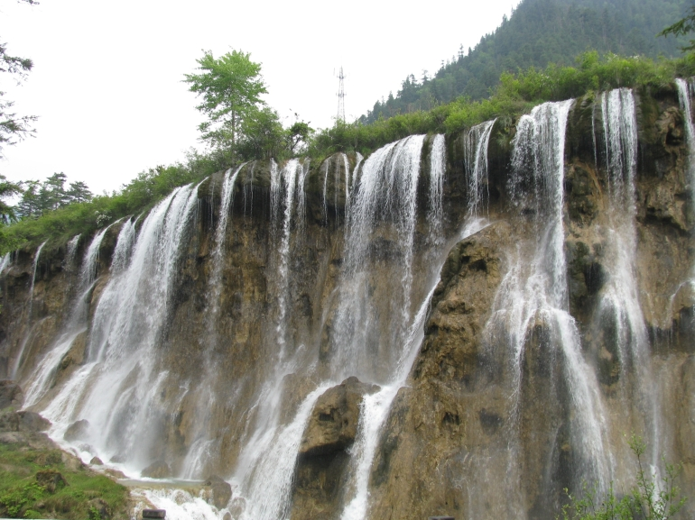 Nuo Ri Lang Falls of Shu Zheng Valley